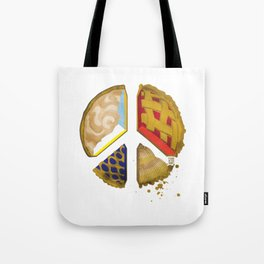 Pie of peace Tote Bag