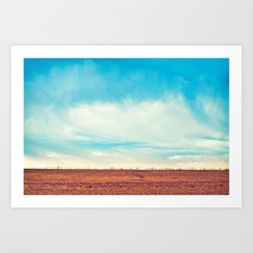 Country Sky Art Print
