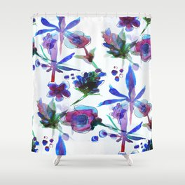 Blueberry Kush Shower Curtain