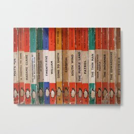 Penguin Book Metal Print