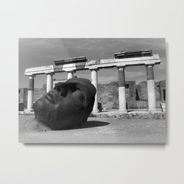 Pompeii - A City Uncovered - 1 Metal Print