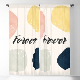 Forever #society6 #love Blackout Curtain