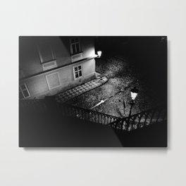 Nocturne Photograph - Prague, 19. Metal Print