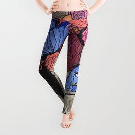 Whimsical News Girl Leggings