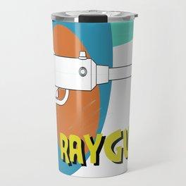 Blue Raygun Travel Mug