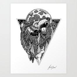 Solos Hoff Art Print