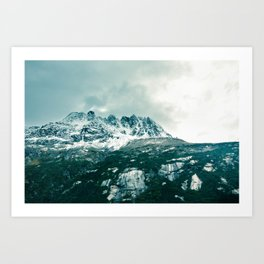 White Pass - Alaska Art Print