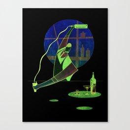 Pour Bar Canvas Print