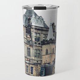 Greyfriars Kirkyard - Candlemakers row in Edinburgh, Scotland Travel Mug
