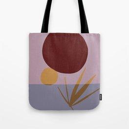 minimalist nurturing sun Tote Bag
