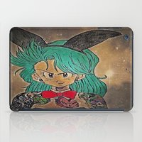 dragon ball iPad Cases featuring First Lady Of Dragon Ball  by Artistic