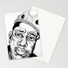 Biggie Smalls Stippling Stationery Cards