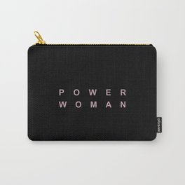 POWER WOMAN Carry-All Pouch