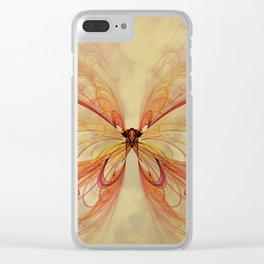 Papillon Clear iPhone Case