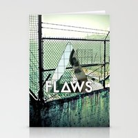 bastille Stationery Cards featuring Bastille - Flaws by Thafrayer