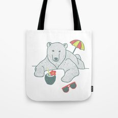 White Summer Tote Bag
