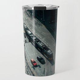 Moody cityscape Travel Mug