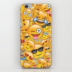 Smiley galore iPhone & iPod Skin