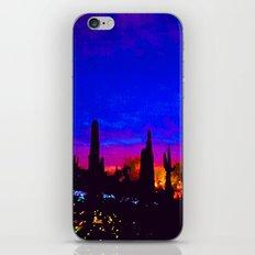 Sunset in Phoenix, Arizona iPhone & iPod Skin