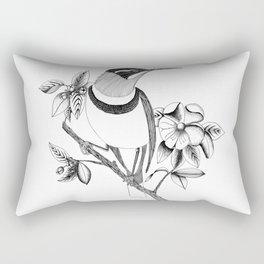 Long Beaked Bird Rectangular Pillow