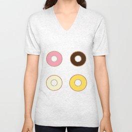 Four Doughnuts Unisex V-Neck