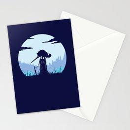 Grey Wolf Sif (Dark Souls) Stationery Cards