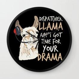 Dispatcher Operator Police Cop First-Responder Wall Clock