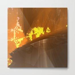 NW School Of Art (3D Digital Fractal Art) Metal Print