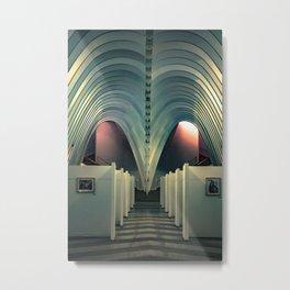Arquitectura a todo color Metal Print
