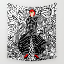 Heroes Fashion 6 Wall Tapestry