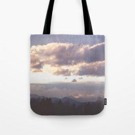 Rocky Mountain Lavendar Tote Bag