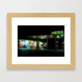 Hess Framed Art Print