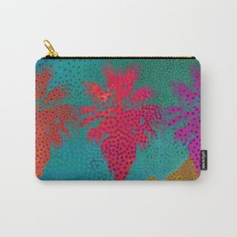 Palm Springs Retro Carry-All Pouch