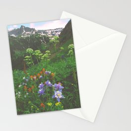 Wildflowers, Yankee Boy Basin above Ouray, Colorado Stationery Cards