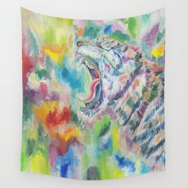 Law Of The Jungle Wall Tapestry