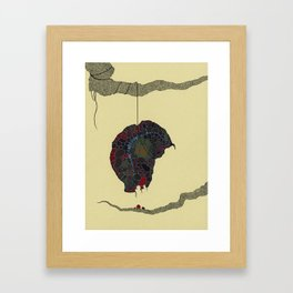 strange fruit no. 3 Framed Art Print