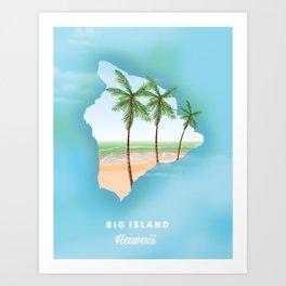 Hawaii Big Island Art Print