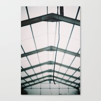 the wire Canvas Prints featuring Wire by JoelAtkinson