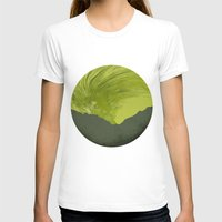 northern lights T-shirts featuring Northern lights 1 by Richard Seyb