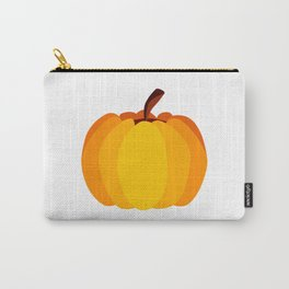 Orange Pumpkin Carry-All Pouch