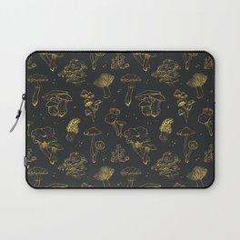 Golden mushrooms Laptop Sleeve