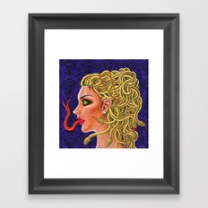 Medusa Framed Art Print