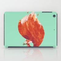 kitsune iPad Cases featuring Kitsune (Fox of fire) by Picomodi