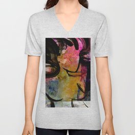Breath Of The Goddess by Kathy Morton Stanion Unisex V-Neck