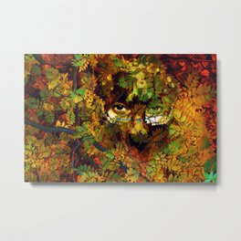 rustling in the foliage Metal Print