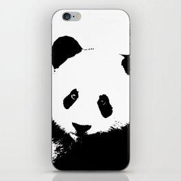 Giant Panda in Black & White iPhone Skin