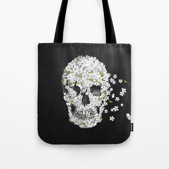 A Beautiful Death - mono Tote Bag