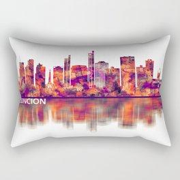 Asuncion Paraguay Skyline Rectangular Pillow