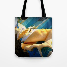 sole e azzurro Tote Bag