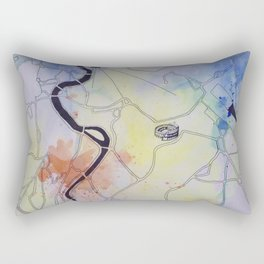 La Città Eterna Rectangular Pillow